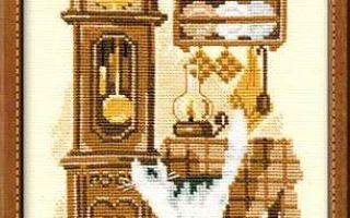 Схема для вышивки крестиком от Riolis: Cats