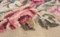 Гобеленовая вышивка: техника, виды швов