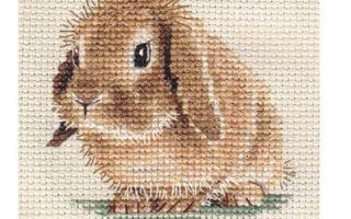 Схема для вышивки кролик