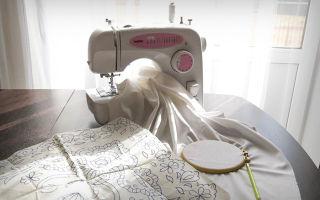 Вышивка ришелье: техника и виды швов