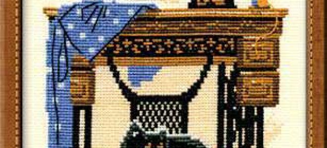 Схема для вышивки Riolis: Cats №857