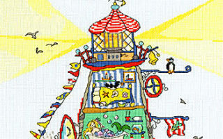 Схема для вышивки Bothy Threads: Lighthouse
