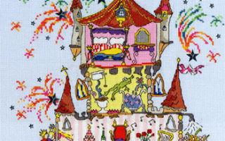 Схема для вышивки Bothy Threads: Princess Palace