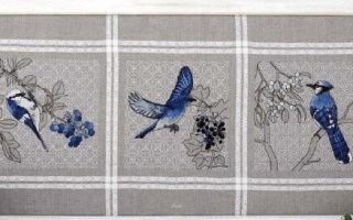 Схема для вышивки Ajasai: birds and berries collection