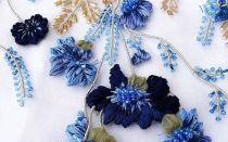 Люневильская вышивка: материалы и технология