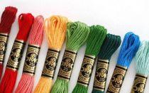 Какие нитки для вышивания крестиком выбрать?