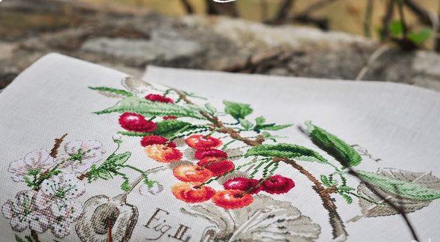 схема парижские вышивальщицы ботаника