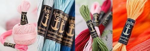 anchor нитки для вышивания
