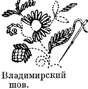 шов владимирский