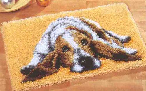 вышивка на ковре