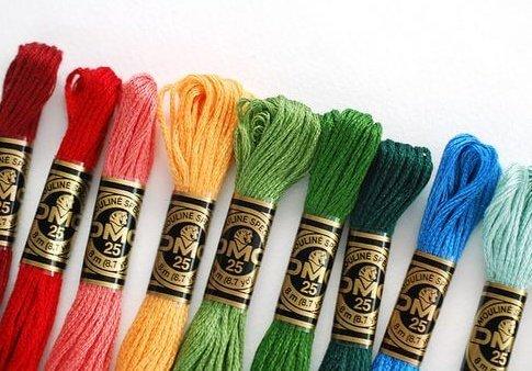 мулине нитки для вышивки