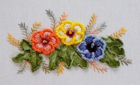 бразильская вышивка