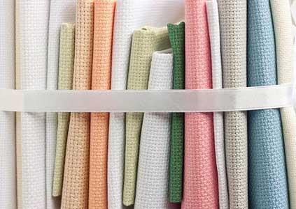 Ткань канва для вышивки крестом