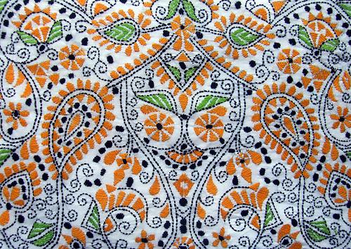 индиймская вышивка