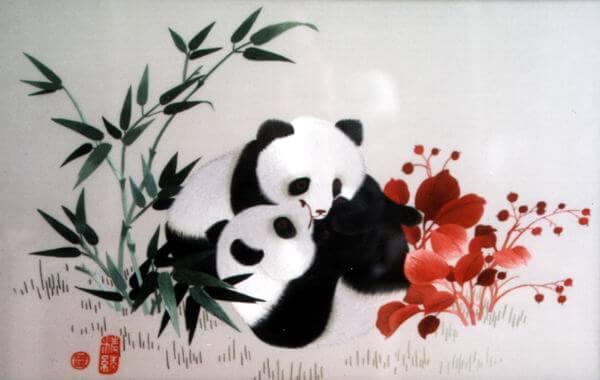 китайская вышивка шу