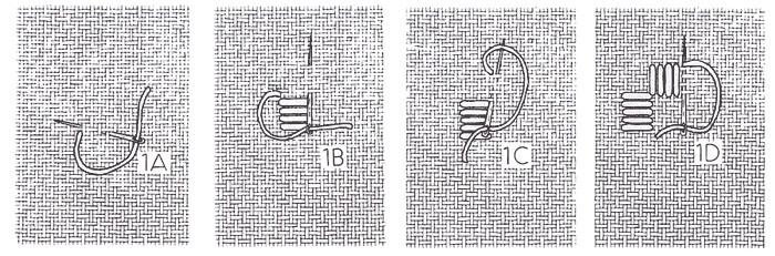 Satin stitch blocks