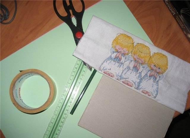 Паспарту для рисунка мастер класс