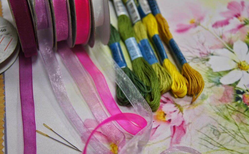 на какой ткани вышивают лентами сальпингит нередко