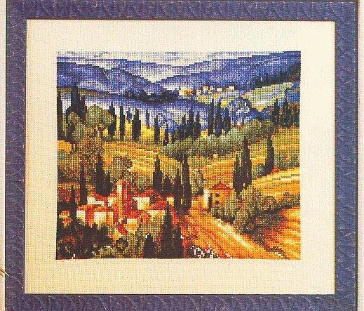 Схема для вышивки Valle de Toscana