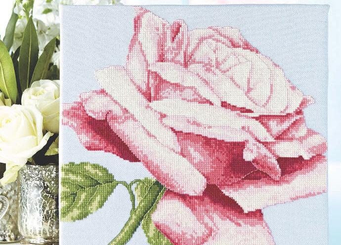 Схема вышивки DMC: Fancy florals