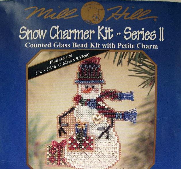 Схема для вышивки Mill Hill: Gift Snow Charmer