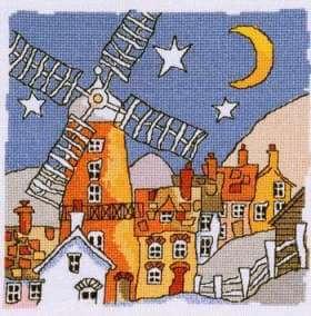 Схема вышивки Michael Powell: Windmill