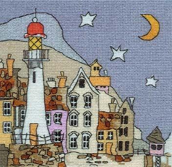 Схема для вышивки Michael Powell: Lighthouse