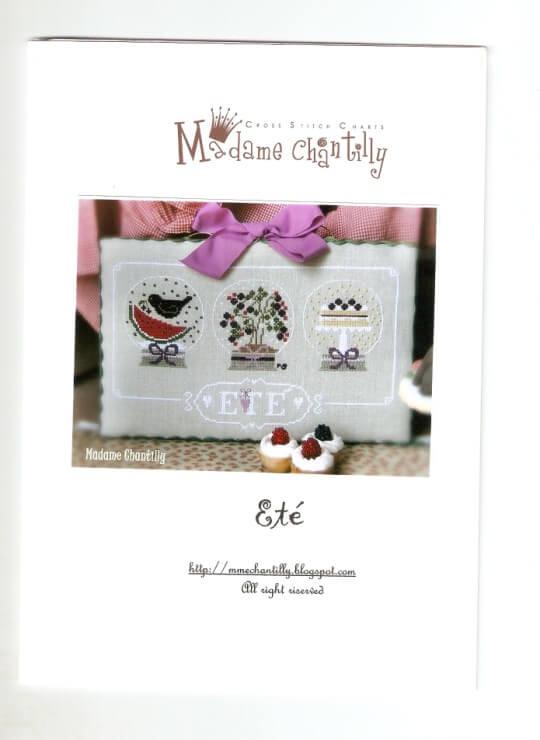 Схема вышивки крестом Madame Chantilly Ete