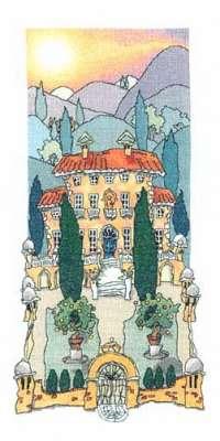Схема вышивки Michael Powell: Tuscan Gardens