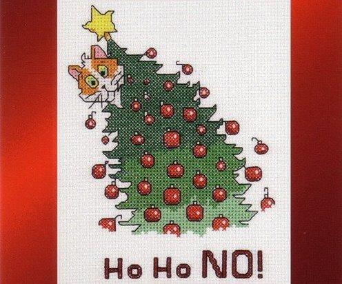 Схема вышивки Janlynn: Ho Ho No