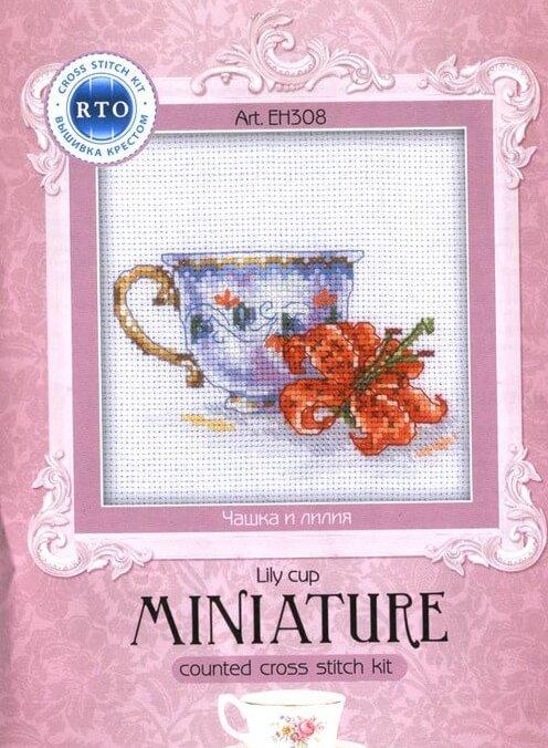 Схема вышивки RTO: Lily