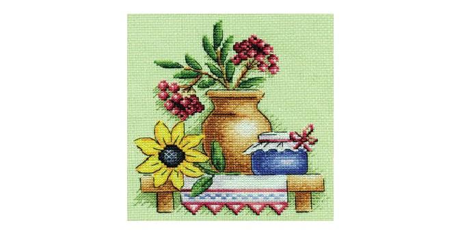 Схема вышивки: Кухонный натюрморт