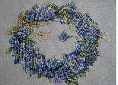 ланарте венок голубой