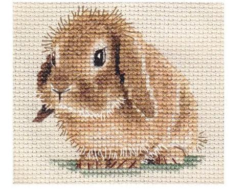 Схема для вышивки зайчонка