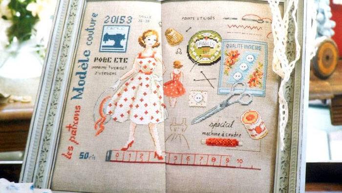 Схема Французской вышивки скачать