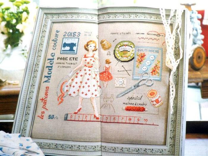 Схема Французской вышивки