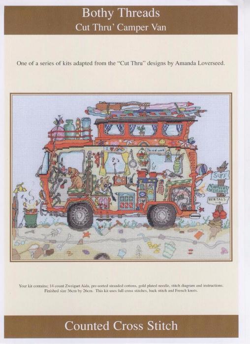 Bothy Threads: Camper Van