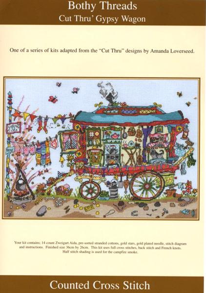 Схема для вышивки Bothy Threads: Gypsy Wagon