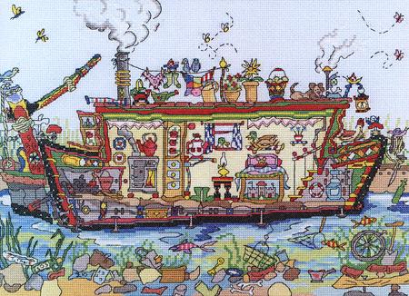 Bothy Threads: Narrow Boat All