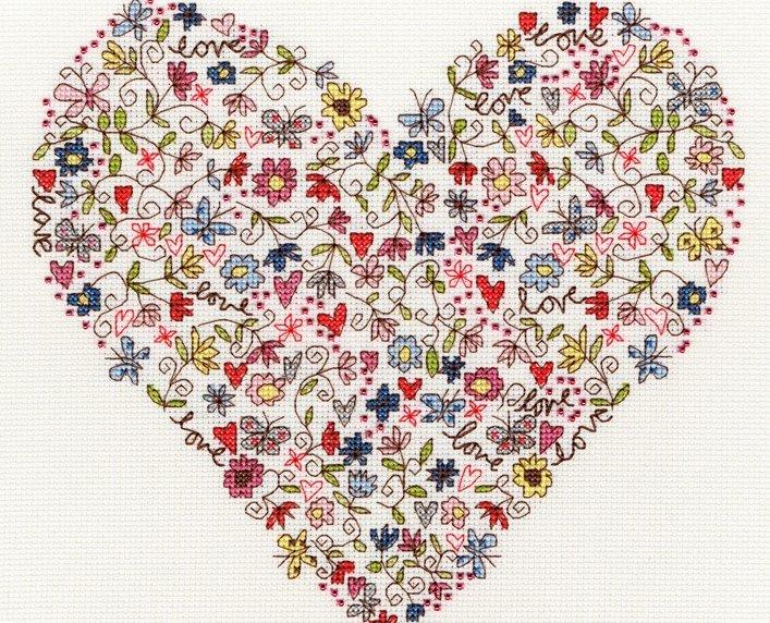 Bothy Treads: Love Heart